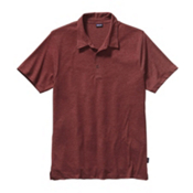Patagonia Daily Tri-Blend Polo Shirt, Drumfire Red, medium