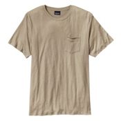 Patagonia Daily Tri-Blend Mens T-Shirt, El Cap Khaki, medium