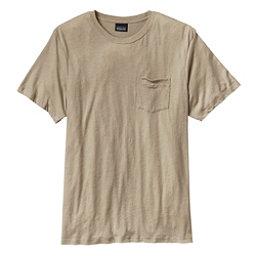 Patagonia Daily Tri-Blend Mens T-Shirt, El Cap Khaki, 256