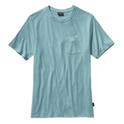Patagonia Daily Tri-Blend T-Shirt, Tubular Blue, medium