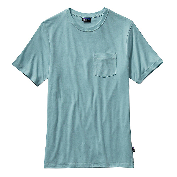 Patagonia Daily Tri-Blend Mens T-Shirt, Tubular Blue, 600