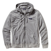 Patagonia Lightweight Full Zip Hoodie, Feather Grey, medium