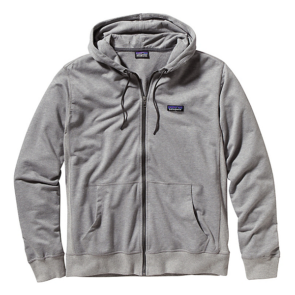Patagonia Lightweight Full Zip Hoodie, Feather Grey, 600