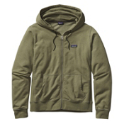 Patagonia Lightweight Full Zip Mens Hoodie, Spanish Moss, medium