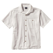 Patagonia A/C Mens Shirt, White, medium