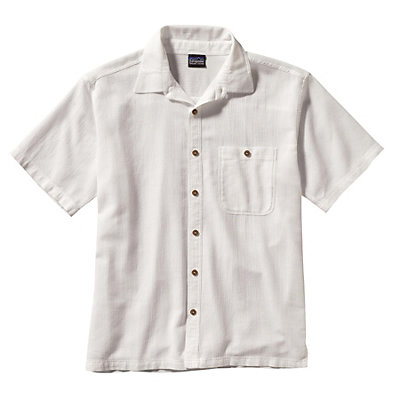 Patagonia A/C Mens Shirt, White, viewer