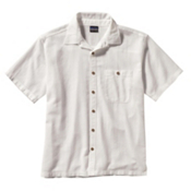 Patagonia A/C Mens Mens Shirt, White, medium