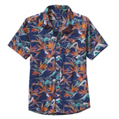 Patagonia Go To Shirt, Piton Paradise Channel Blue, medium