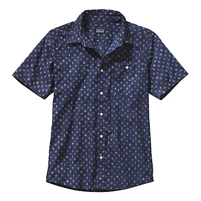 Patagonia Go To Shirt, Piton Paradise Channel Blue, viewer