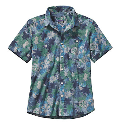 Patagonia Go To Mens Shirt, Piton Paradise Channel Blue, viewer