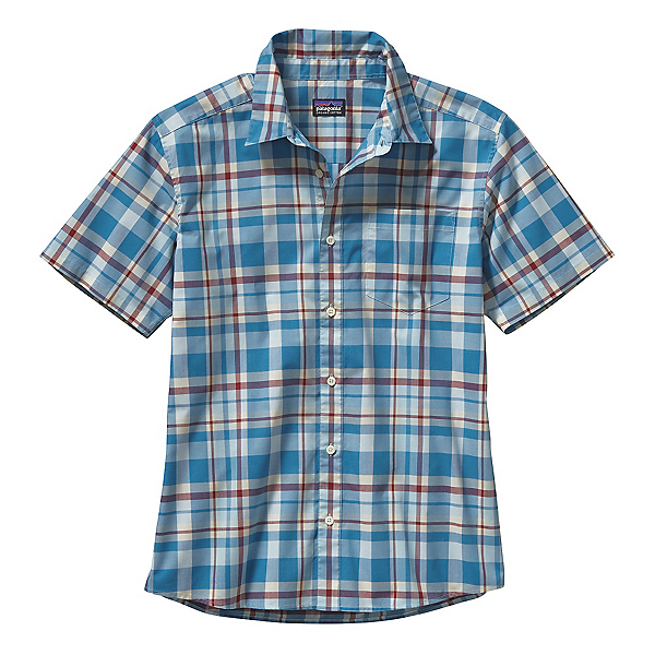 Patagonia Fezzman Mens Shirt, Sisquoc Catalyst Blue, 600