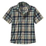 Patagonia Fezzman Mens Shirt, Sisquoc Distilled Green, medium