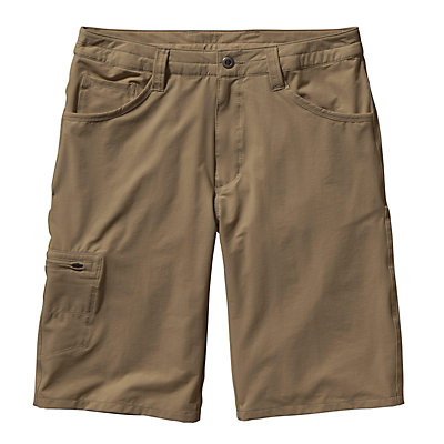 Patagonia Quandary 12in Mens Shorts, Ash Tan, viewer