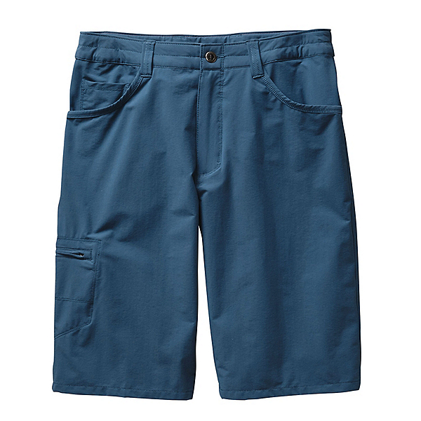 Patagonia Quandary 12in Mens Shorts, Glass Blue, 600