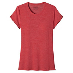 Patagonia Glorya Tee Womens T-Shirt, Shock Pink, 256