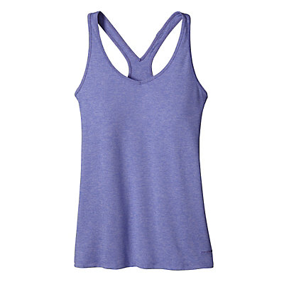 Patagonia Fleur Womens Tank-Top, Howling Turquoise, viewer