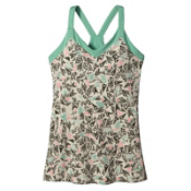 Patagonia Hotline Womens Tank-Top, Quiver & Qull Bleached Stone, medium