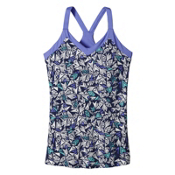 Patagonia Hotline Womens Tank-Top, Quiver & Quill Navy Blue, medium