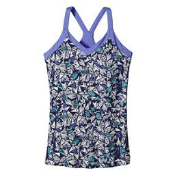 Patagonia Hotline Womens Tank-Top, Quiver & Quill Navy Blue, 256
