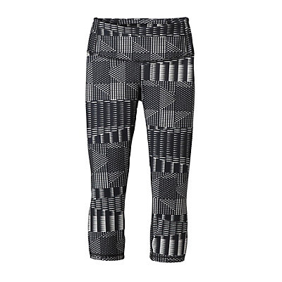 Patagonia Centered Crop Womens Pants, Forge Grey, viewer