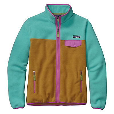 Patagonia Full Zip Snap-T Jacket, Howling Turquoise, viewer