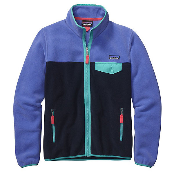 Patagonia Full Zip Snap-T Jacket, Violet Blue, 600
