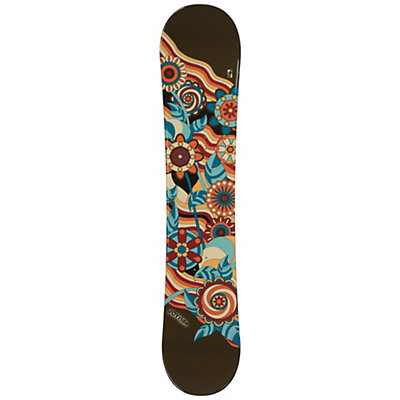 JoyRide Flower Brown Girls Snowboard, , viewer