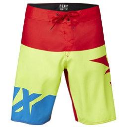 Fox Shiv Mens Board Shorts, Flo Yellow, 256