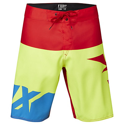 Fox Shiv Mens Board Shorts, Flo Yellow, viewer