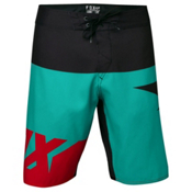 Fox Shiv Boardshorts, Teal, medium