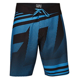 Fox Static Mens Board Shorts, Electric Blue, 256