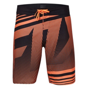 Fox Racing Static Board Shorts, Flo Orange, medium