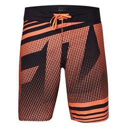Fox Static Mens Board Shorts, Flo Orange, 256