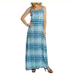 Dotti Batik Summer Maxi Dress Bathing Suit Cover Up, Teal-Lilac, 256