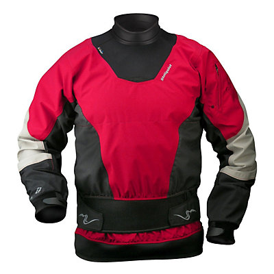 Stohlquist Freeplay Paddling Jacket, Fireball Red, viewer