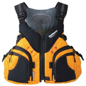 Stohlquist Keeper Fishing Kayak Life Jacket 2017, Mango, medium
