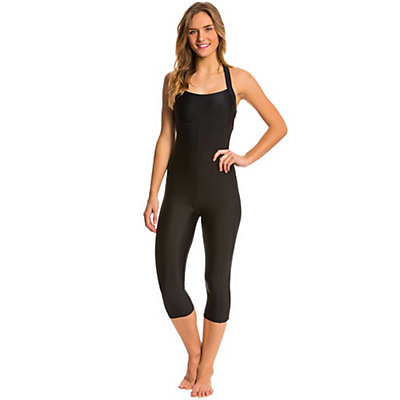 Body Glove Shanti Bodysuit One Piece Swimsuit, Black, viewer