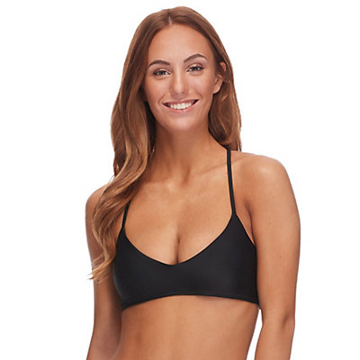 Body Glove Smoothies Alani Bathing Suit Top, Black, viewer