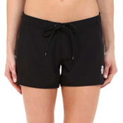 Body Glove Blacks Beach Womens Board Shorts, Black, medium