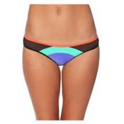 Body Glove Borderline Surf Rider Bathing Suit Bottoms, Iris Blue, medium