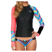 Body Glove Cha Cha Sleek Womens Rash Guard, Black, medium