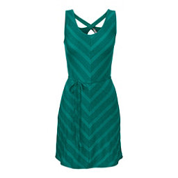 The North Face Breezeback Dress, Teal Blue, 256