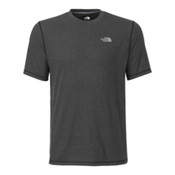 The North Face Men's S/S Crag Crew Mens Shirt, TNF Dark Grey Heather, medium