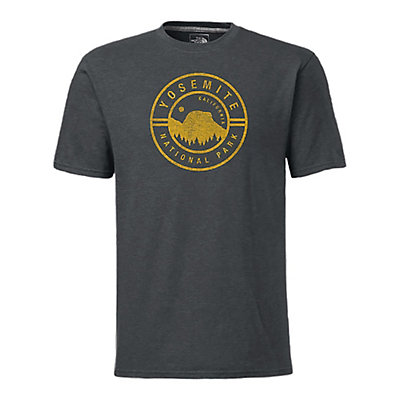 The North Face Men's S/S National Parks T-Shirt, Cosmic Blue Heather, viewer