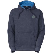 The North Face Men's National Parks Pullover Hoodie, Cosmic Blue Heather, medium