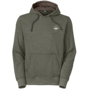 The North Face Men's National Parks Pullover Hoodie, Spruce Green Heather, medium
