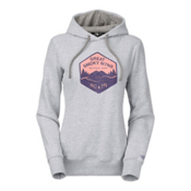 The North Face National Parks Welt Pocket Womens Hoodie, TNF Light Grey Heather, medium