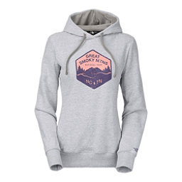 The North Face National Parks Welt Pocket Womens Hoodie, TNF Light Grey Heather, 256