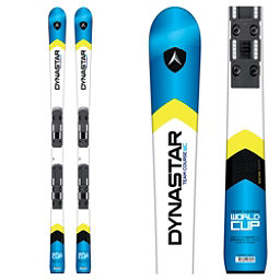 Dynastar Team Course WC R20 Pro Junior Race Skis with Look Nova Team 7 Bindings, White-Blue, 256
