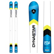 Dynastar Team Course Open Junior Race Skis with Look Nova Team 7 Bindings, White-Blue, medium